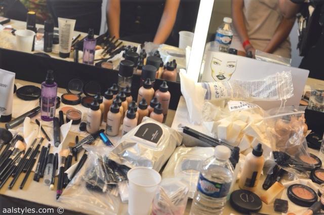 MAC Cosmetics make-up artists and backstage-15