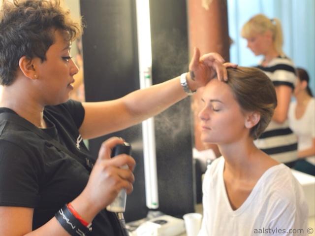 MAC Cosmetics make-up artists and backstage-16