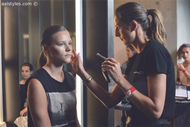 MAC Cosmetics make-up artists and backstage-19