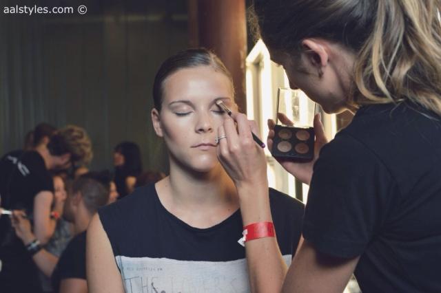 MAC Cosmetics make-up artists and backstage-2
