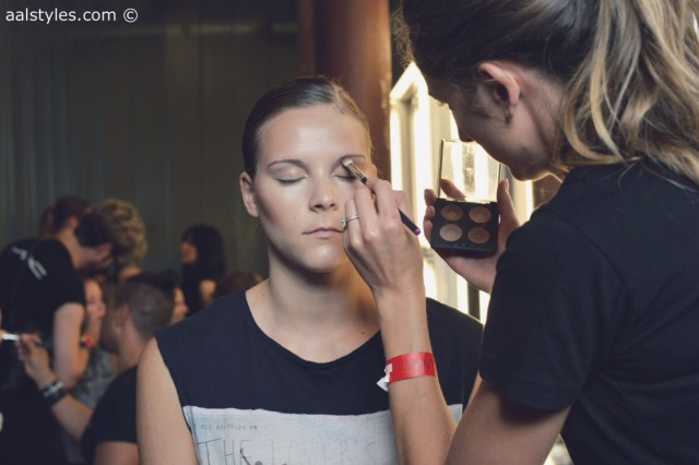 MAC Cosmetics make-up artists and backstage-2
