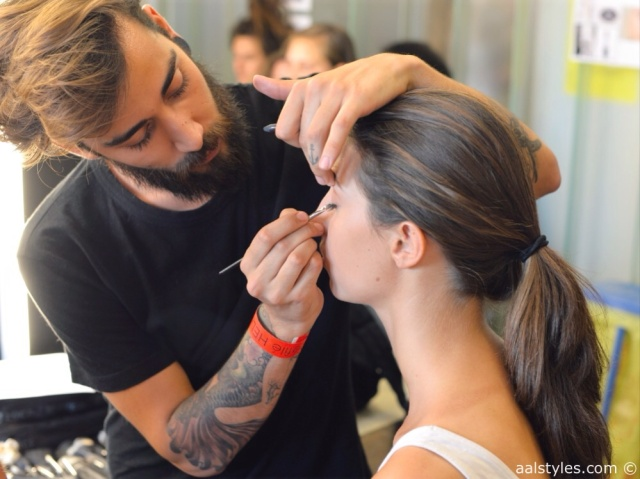 MAC Cosmetics make-up artists and backstage-20