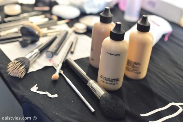 MAC Cosmetics make-up artists and backstage-3