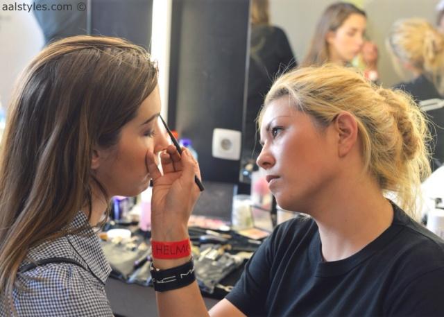 MAC Cosmetics make-up artists and backstage-5