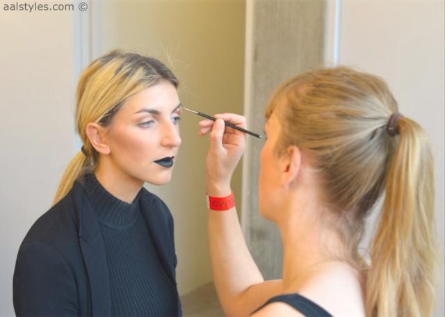 MAC Cosmetics make-up artists and backstage-7