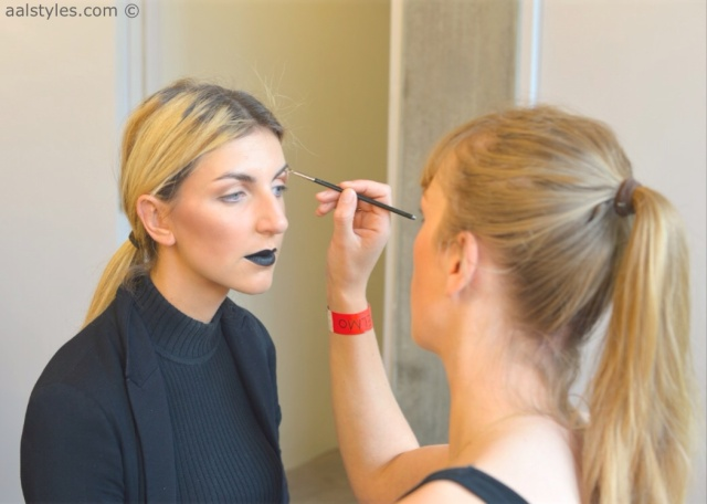 MAC Cosmetics make-up artists and backstage-7