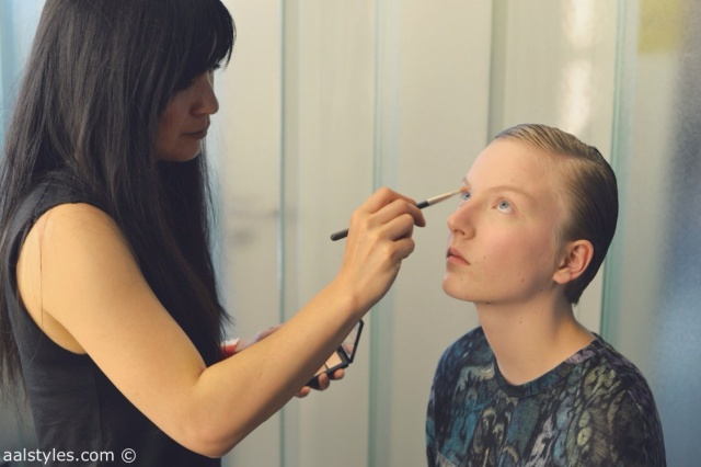 MAC Cosmetics make-up artists and backstage-8