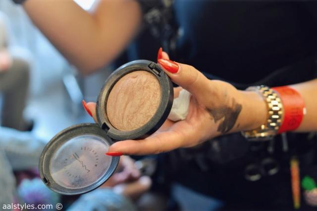 MAC Cosmetics make-up artists and backstage-9