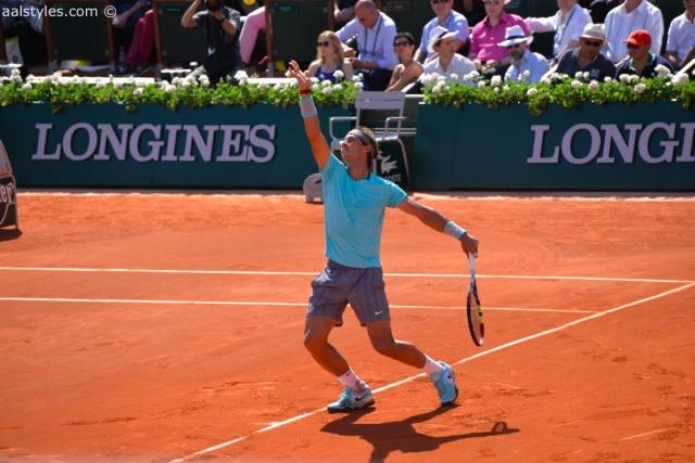 Roland Garros 2014-15-Rafael Nadal