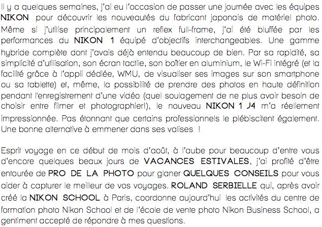 Réussir ses photos de vacances-Conseils-Roland Serbielle-Nikon France-5