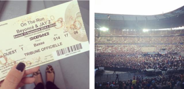 Beyoncé x JayZ-On the Run Tour Paris-Stade de France-American Express 2