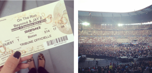 Beyoncé x JayZ-On the Run Tour Paris-Stade de France-American Express 2