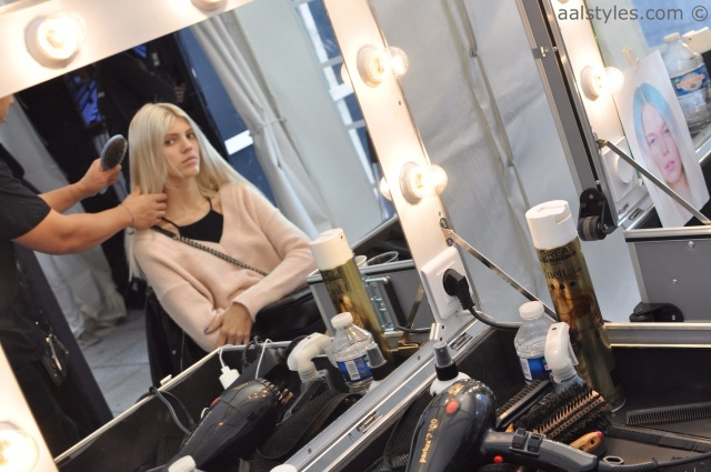 Maxime Simoëns-SS15-Backstage-Bumble and bumble-13-Devon Windsor