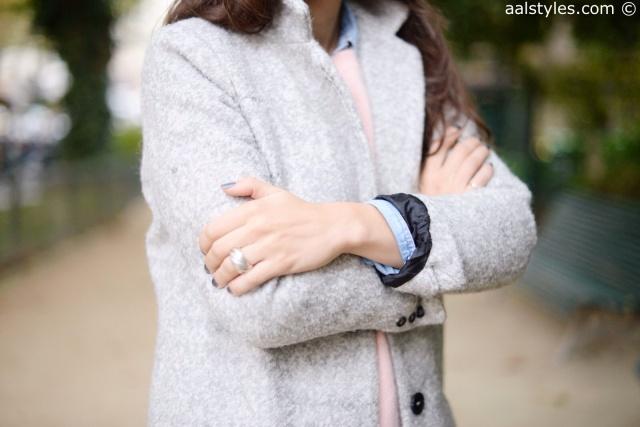 Manteau gris C&A-3