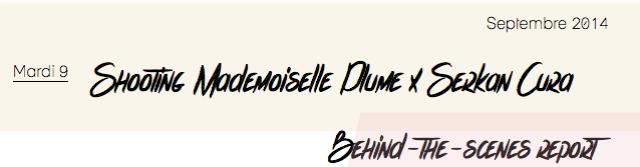 Shooting Mademoiselle Plume x Serkan Cura-1