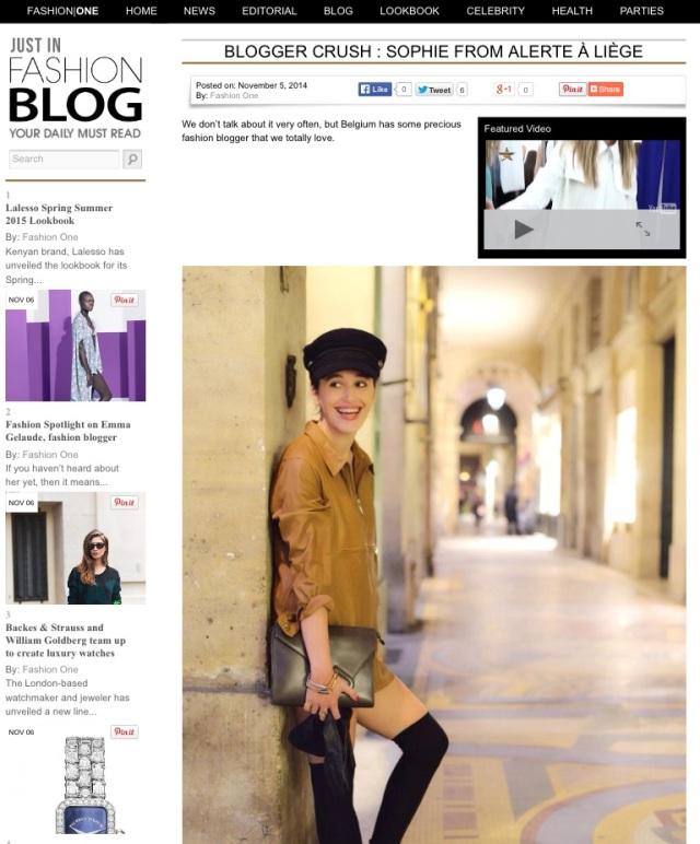 Fashion One-Fashion Blog in Belgium-Alerte a Liege