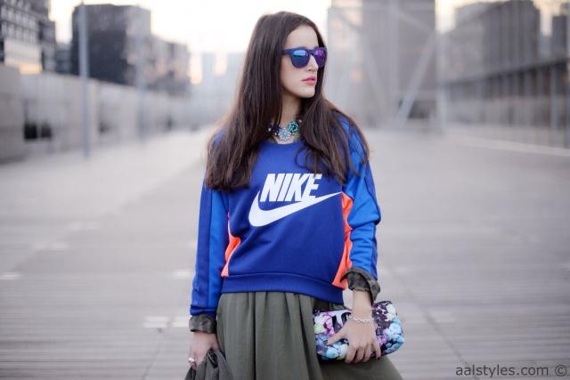 Nike sweatshirt FEARLESS-Zalando-1