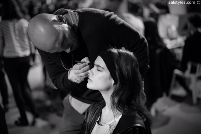 Cédric Charlier-Automne-Hiver 15-16-Backstage-Bumble and bumble-4