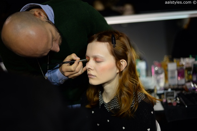 Cédric Charlier-Automne-Hiver 15-16-Backstage-Bumble and bumble-5