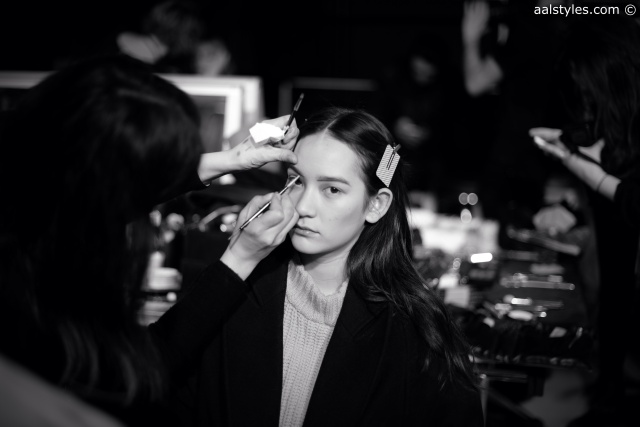 Cédric Charlier-Automne-Hiver 15-16-Backstage-Bumble and bumble-9