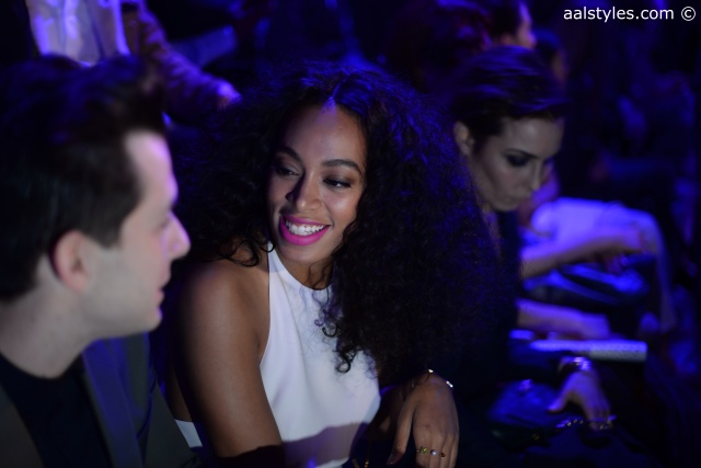 Solange Knowles-Fashion Week de Paris-FW15-H&M Studio-