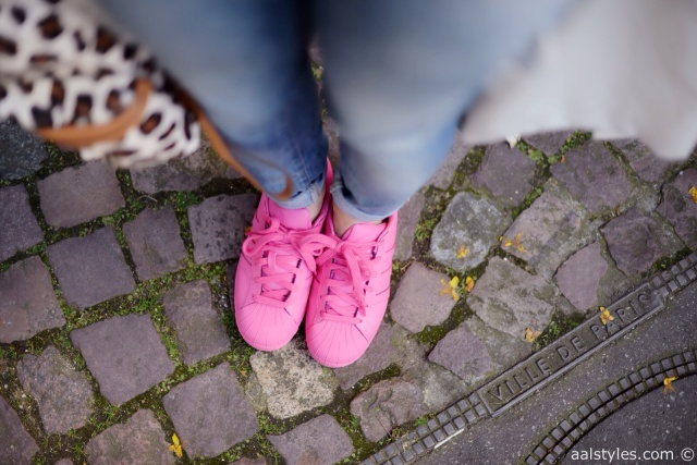 Pharrell x Adidas Superstar Supercolor-Semi Solar Pink-Fashion Blog-2