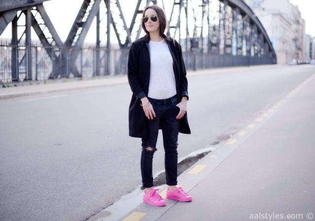 Pharrell x Adidas Superstar Supercolor-Semi Solar Pink-Fashion Blog-4