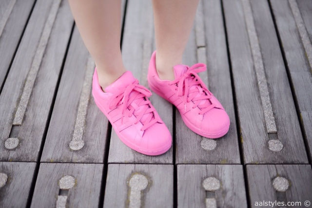 Pharrell x Adidas Superstar Supercolor-Semi Solar Pink-Fashion Blog-6