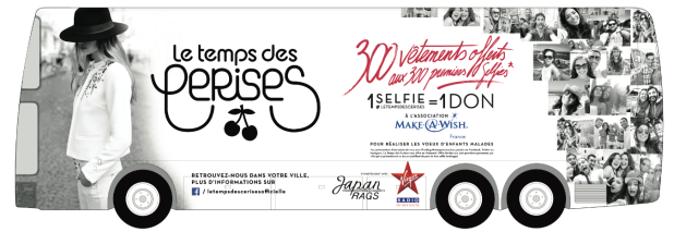 Le Temps des Cerises-Selfie Tour-Make-a-Wish Belgium South-4