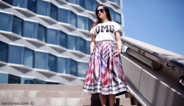 Midi Skirt x Sneakers-Sadie Williams x & Other Stories-0