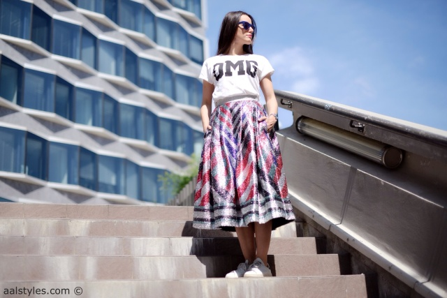 Midi Skirt x Sneakers-Sadie Williams x & Other Stories-1