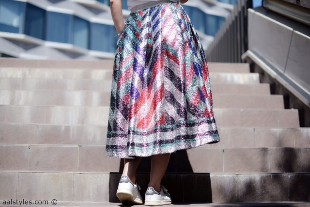Midi Skirt x Sneakers-Sadie Williams x & Other Stories-2