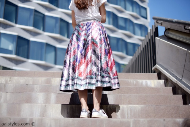 Midi Skirt x Sneakers-Sadie Williams x & Other Stories-4