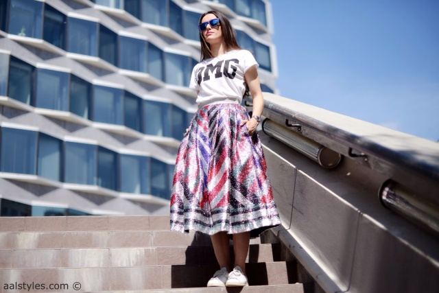 Midi Skirt x Sneakers-Sadie Williams x & Other Stories-5