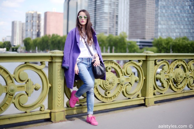 Pink x Purple-Boyfriend Coat-1
