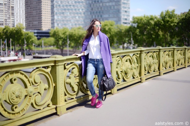 Pink x Purple-Boyfriend Coat-3
