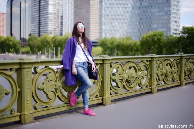 Pink x Purple-Boyfriend Coat-4