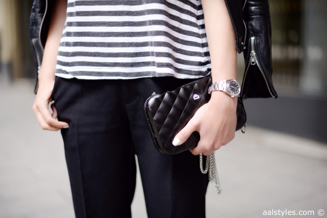 Cropped pants fashion blog-4-Quilted Lady Bag from Ogon by Eric Berthes