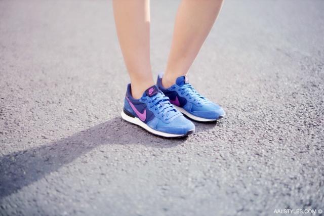 Nike - INTERNATIONALIST - dark royal blue purple-2