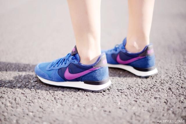 Nike - INTERNATIONALIST - dark royal blue purple-5