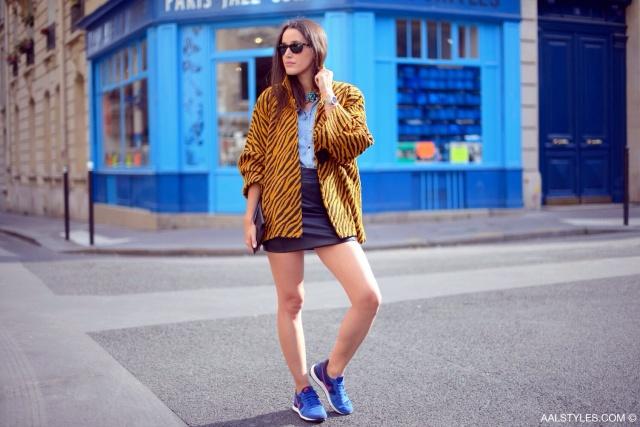 Nike - INTERNATIONALIST - dark royal blue purple-6