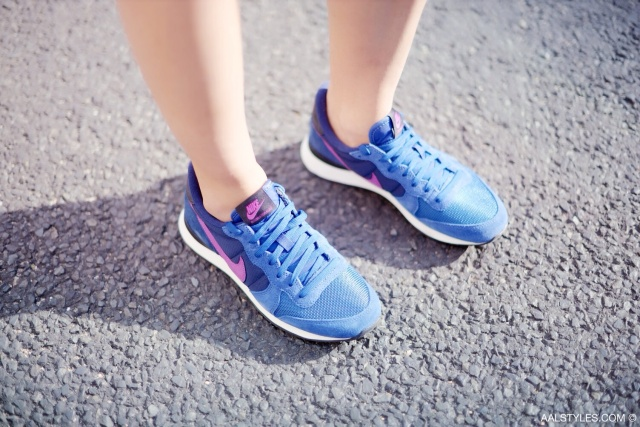 Nike - INTERNATIONALIST - dark royal blue purple-7