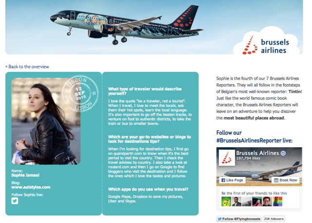 Brussels Airlines Reporter-Belgian Fashion Bloggers-Sophie ISMAIL