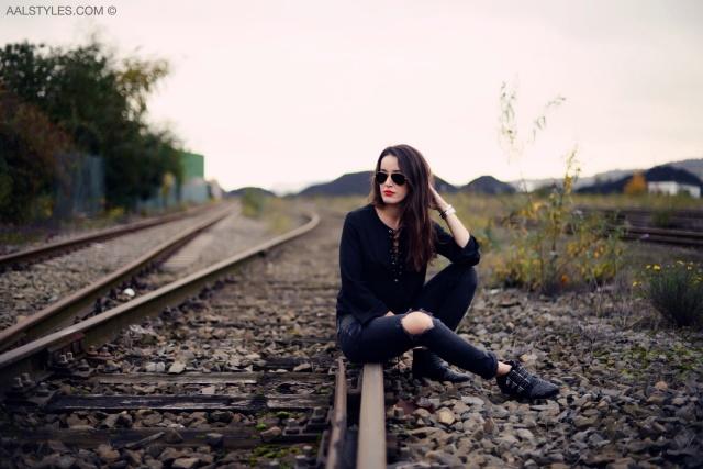 Blouse lacée-Blogueuse mode-Belgique-1
