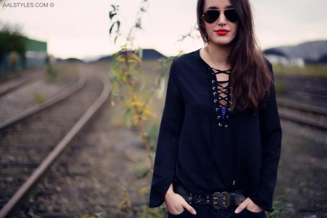 Blouse lacée-Blogueuse mode-Belgique-2