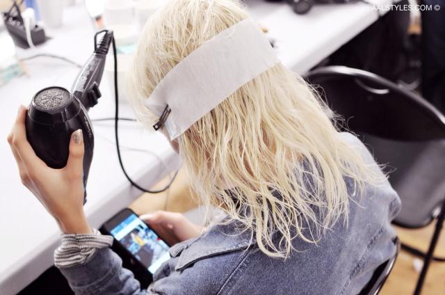 Kenzo-Fashion Week Paris-SS16-Bumble and bumble-Anthony Turner-1