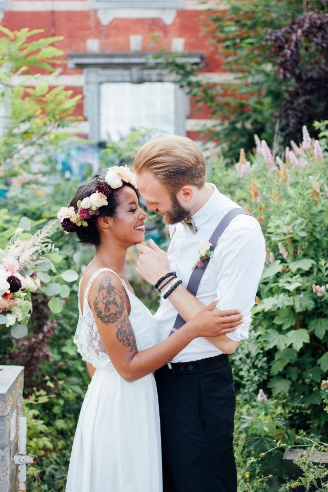 3-Couple d'amoureux, jeunes mariés - mise en scène Lovetralala - Jehanne Moll