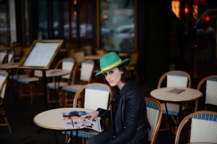 ALABAMA Hat Zadig & Voltaire Green-Cover